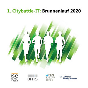 1. IT-CITY-BATTLE 2020 innerhalb des Everstener Brunnenlaufs