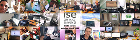 Greetings from ise mobil office ise cool place to work - from everywhere