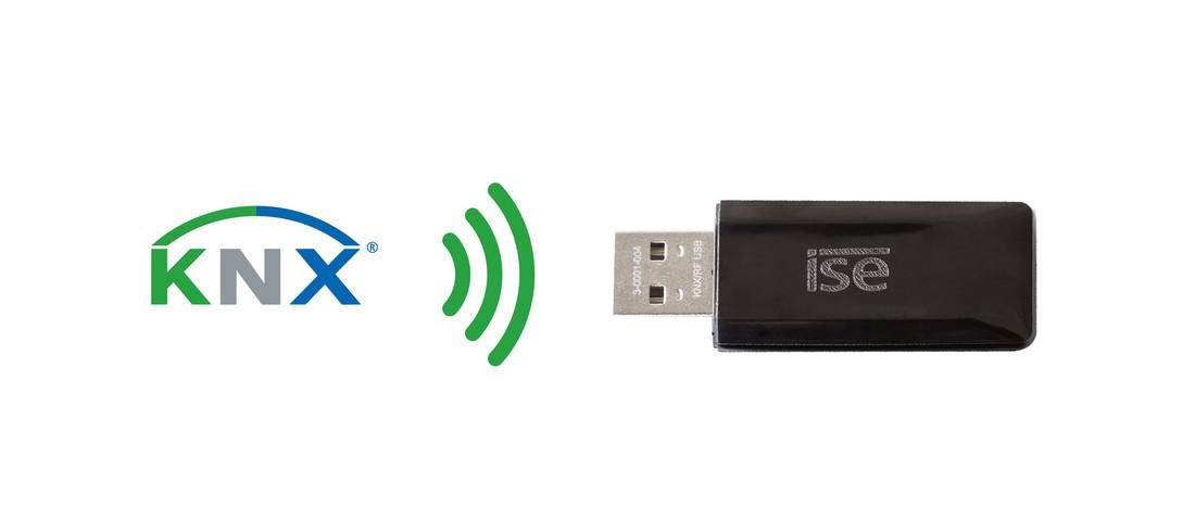KNX RF USB-Stick infographic
